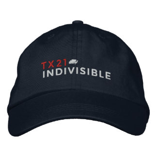 Navy Adjustable Cap Embroidered with Logo Embroidered Hats