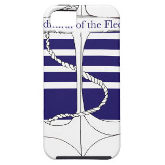 navy admiral of the fleet, tony fernandes iPhone 5 case