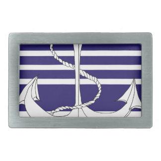 navy admiral of the fleet, tony fernandes rectangular belt buckle