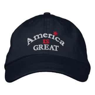 Navy America Is Great Adjustable Hat