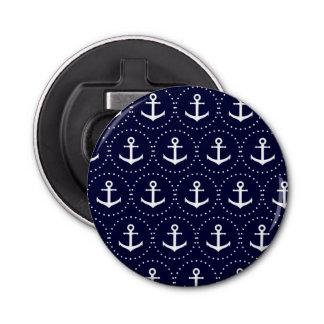 Navy anchor circle pattern