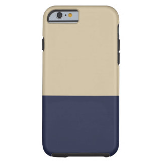 Navy and Gold iPhone 6 case Tough iPhone 6 Case