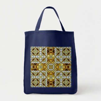 Navy and Golden Bag Bags