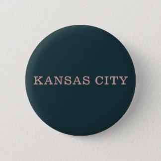 Navy and Pink Kansas City Button