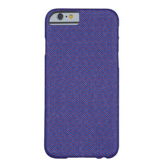 Navy and red spotty barely there iPhone 6 case