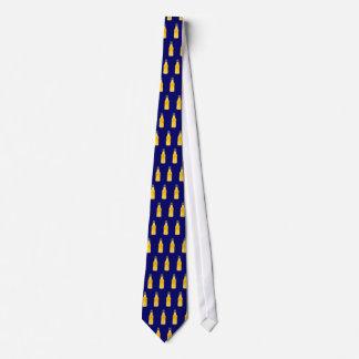 Navy Beer Tie
