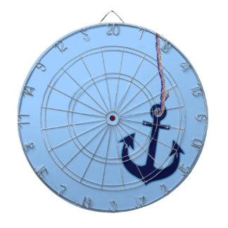 navy blue anchor dartboard