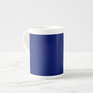 Navy Blue Background on a Mug Bone China Mug