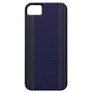 Navy Blue & Black iPhone 5 Case