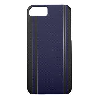 Navy Blue & Black iPhone 7 case
