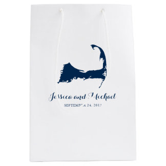 Navy Blue Cape Cod Massachusetts Map | GUEST BAG