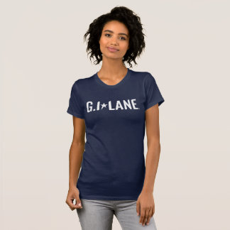 Navy Blue EMT American Apparel Fine Jersey T-Shirt