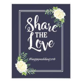 Navy blue Ivory Rose social media hashtag Art Photo