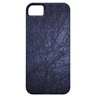 Navy Blue Leather Look iPhone 5 case