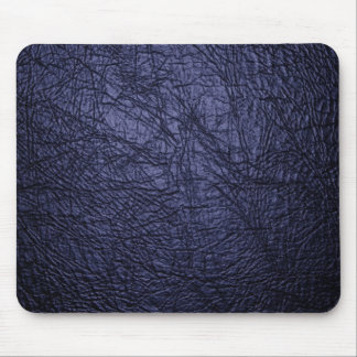 navy blue leather texture mouse pad