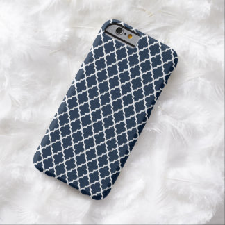 Navy Blue Moroccan Pattern Mod iPhone 6 case