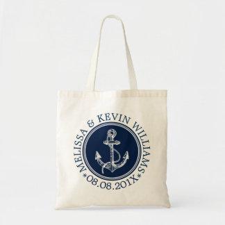 Navy Blue Nautical Boat Anchor Wedding Template