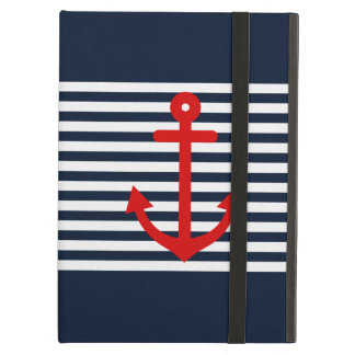 Navy Blue Nautical Case For iPad Air