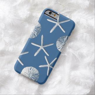 Navy Blue Nautical Seashells iPhone 6 case
