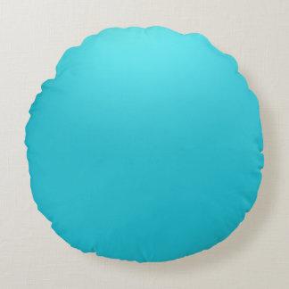 Navy Blue  Polyester Round throw cushion