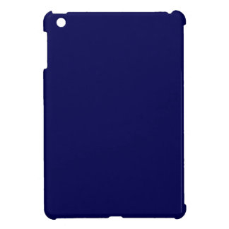Navy Blue Solid Color Customize It Case For The iPad Mini