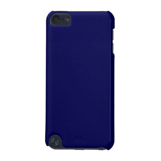 Navy Blue Solid Color Customize It iPod Touch (5th Generation) Covers