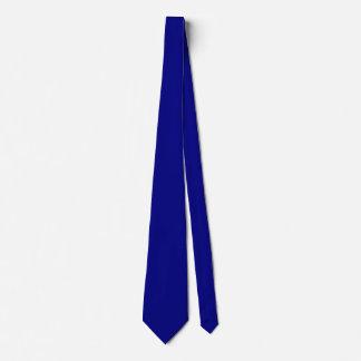 Navy Blue Solid Color Tie