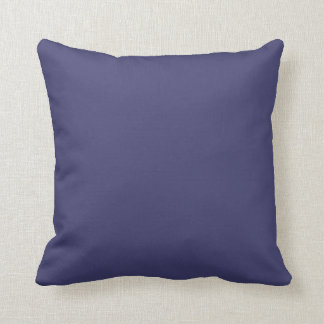 """Navy Blue Throw Pillow - """"Customizable"""""""