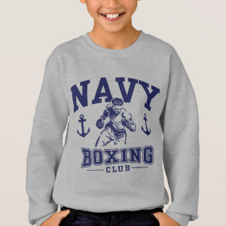 Navy Boxing Sweatshirt