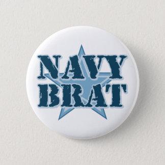 Navy Brat 6 Cm Round Badge