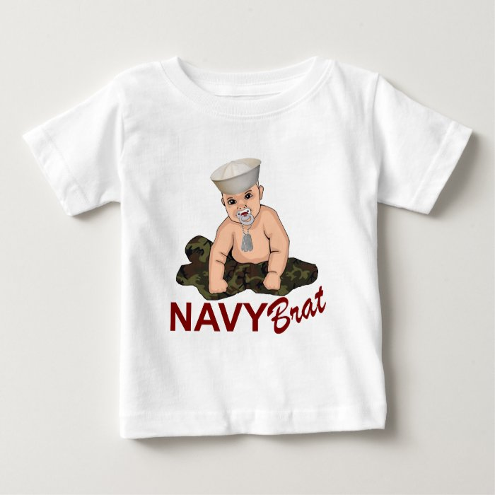 Navy Brat Baby T-Shirt