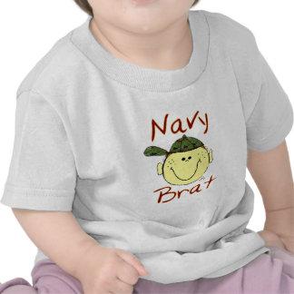 Navy Brat Boy T-shirt
