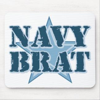 Navy Brat Mouse Pad