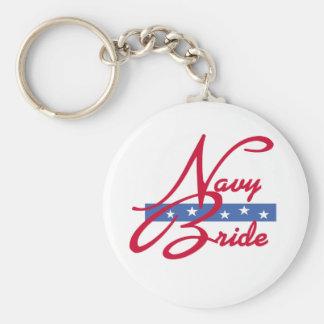 Navy Bride Keychain