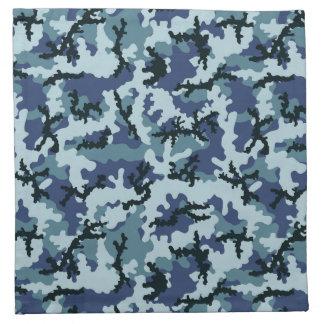 Navy camouflage napkin