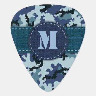 Navy camouflage plectrum