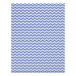 Navy Chevron/Zig Zag Scrapbook Paper 21.5 Cm X 28 Cm Flyer