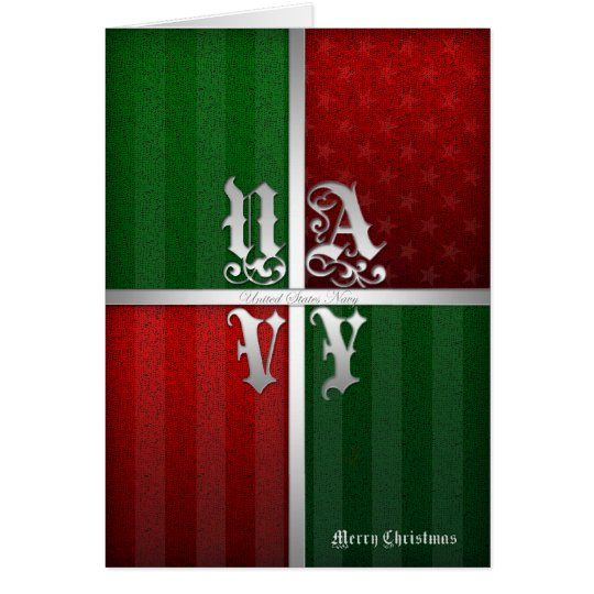 Navy Christmas Card