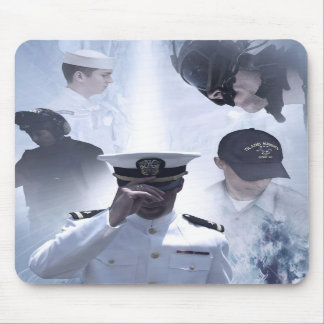 Navy Commemorative Mousepad