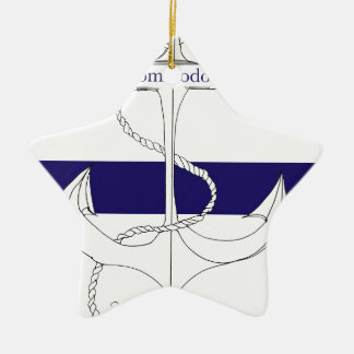 navy commodore, tony fernandes christmas ornament
