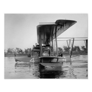 Navy Curtiss NC-4 Flying Boat, 1918 Print