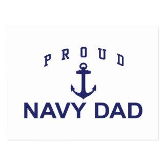 Navy Dad Post Card
