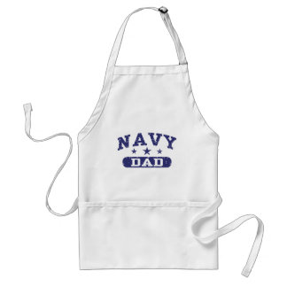 Navy Dad Standard Apron