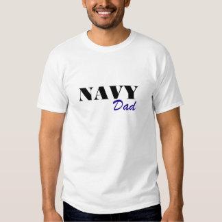 Navy Dad Tee Shirt
