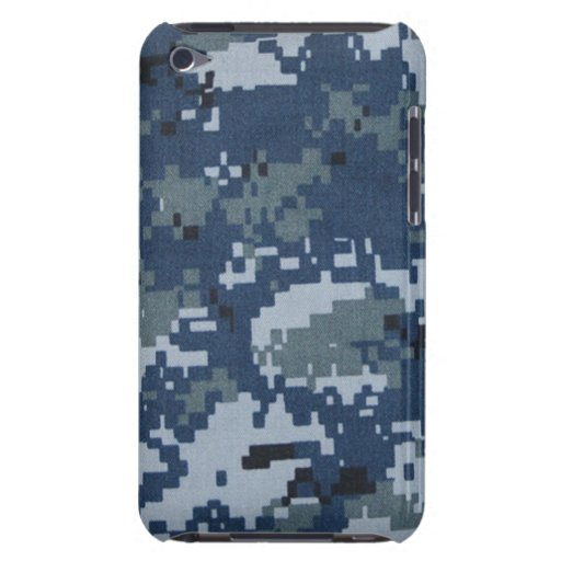 Navy Digital Camouflage iPod Touch Case