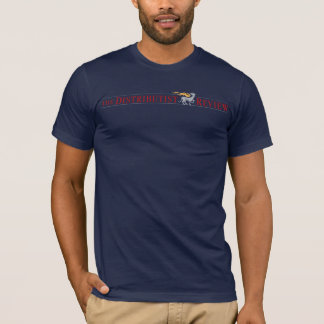 Navy Distributist Review Logo Shirt