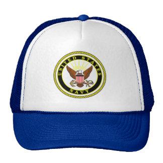 Navy Emblem Cap