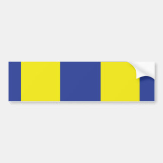 Navy Expeditionary Military Ribbon Bumper Sticker
