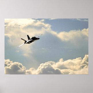 Navy F-18 Poster