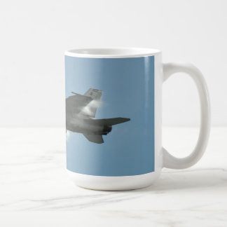 Navy F/A-18E/F F-18 Super Hornet Daytona Beach FL Basic White Mug